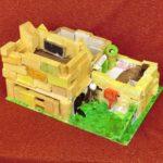 積み木の家